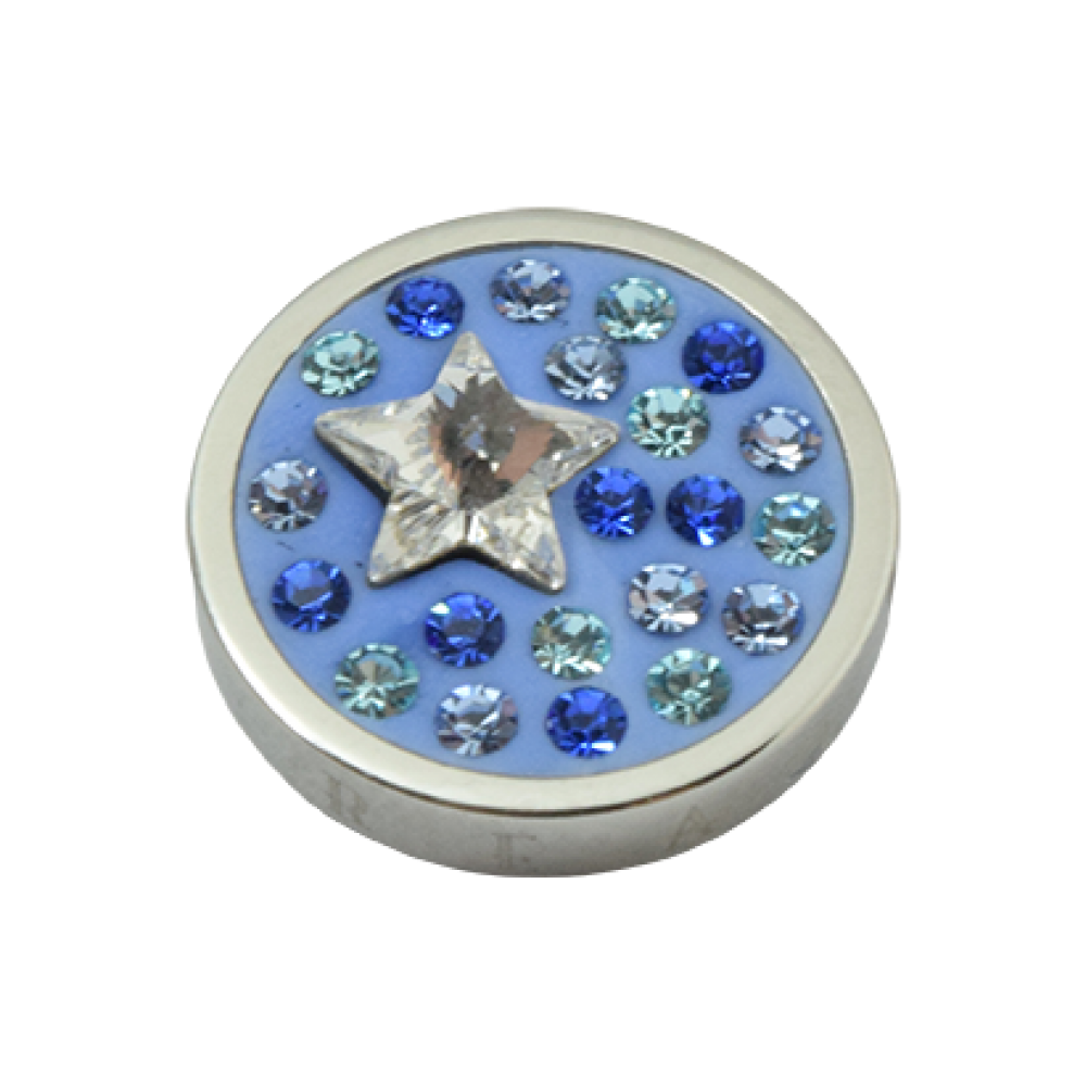 Pequeno Diam Relleno Star shades aqua