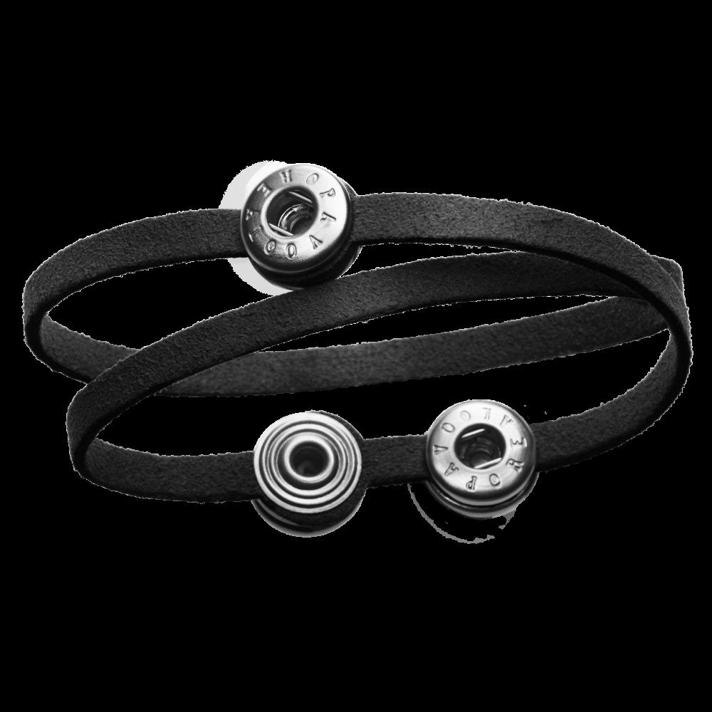 Pequeno Bracelet Solo Double black