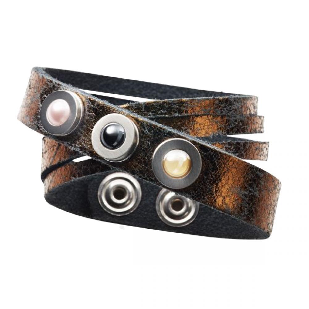 Pequeno Bracelet Glam double cooper2