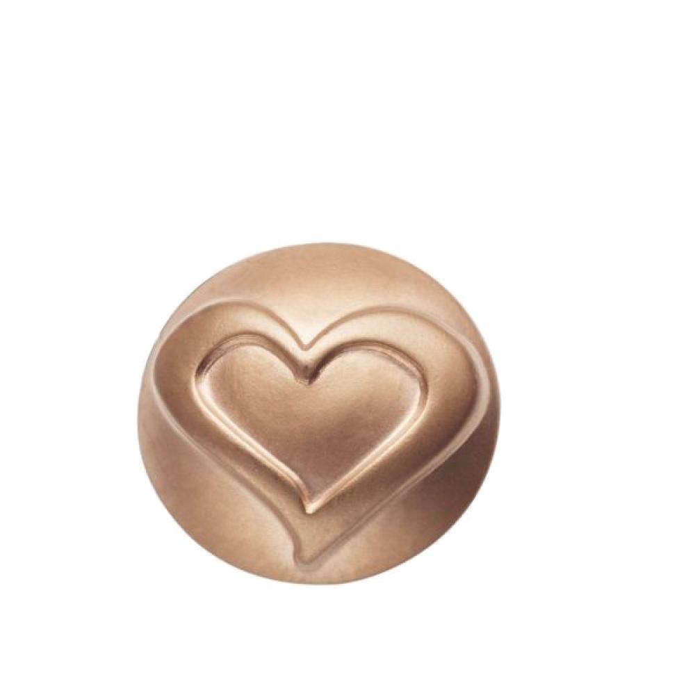 Pequeno Diam rosé heart line