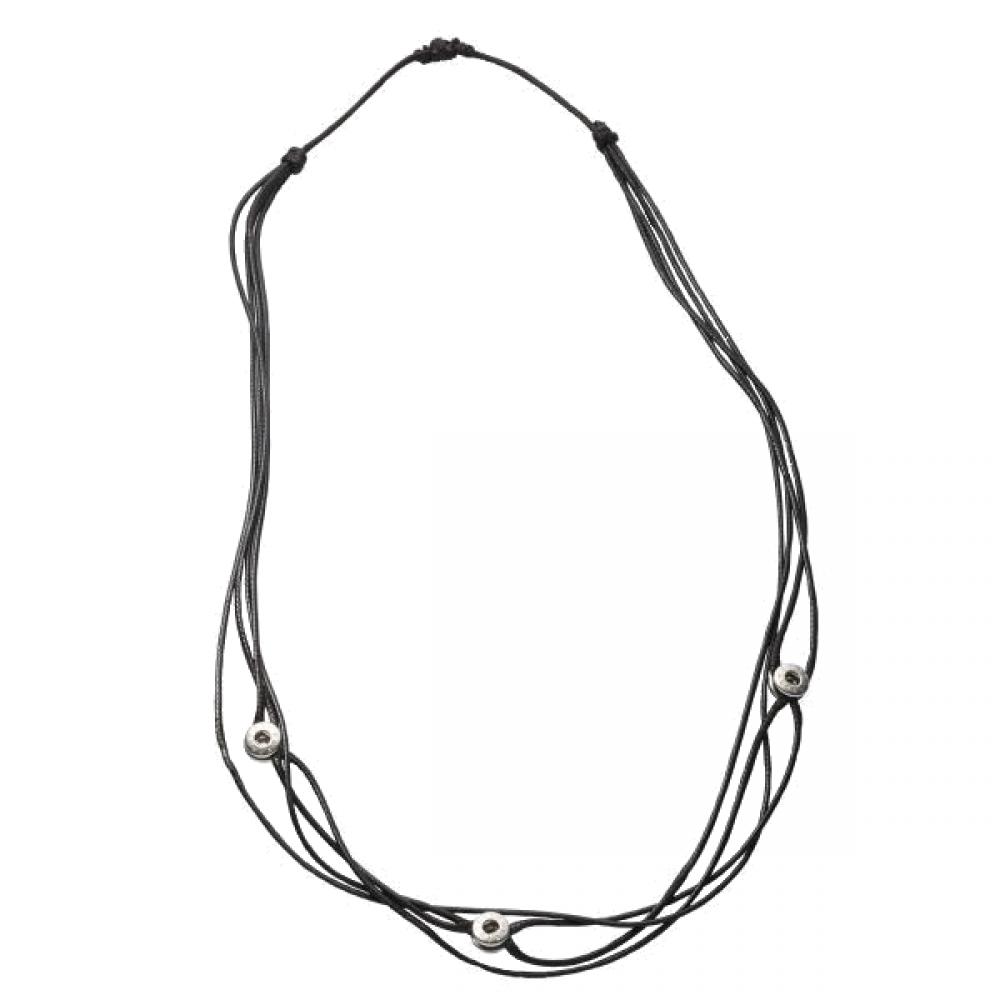 Pequeno Necklace Tres 80 cm