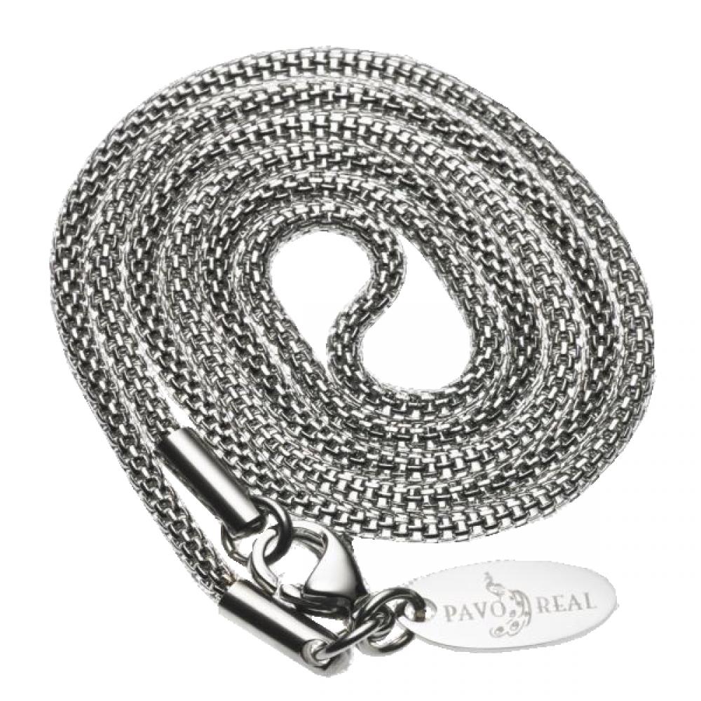 Necklace WireWove 42cm polished