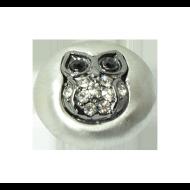Pequeno Diam gun Owl crystal