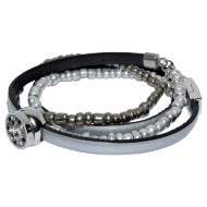 Triple Pearl Silver