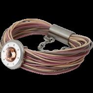 Bracelet Solo string shades pink