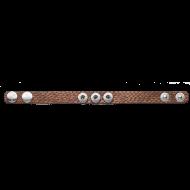 Pequeno Bracelet Allegra brown