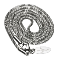 Necklace WireWove 42cm polished